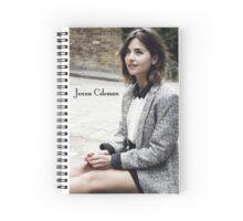 Jenna Coleman Spiral Notebook