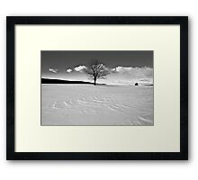 Winter is Comin' Framed Print