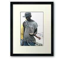 Street photo - Mozambique 2  Framed Print