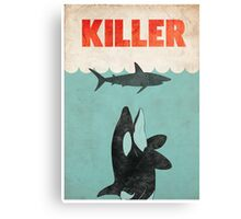 Jaws Killer Whale Switcheroo  Canvas Print