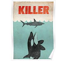 Jaws Killer Whale Switcheroo  Poster