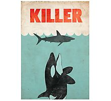 Jaws Killer Whale Switcheroo  Photographic Print