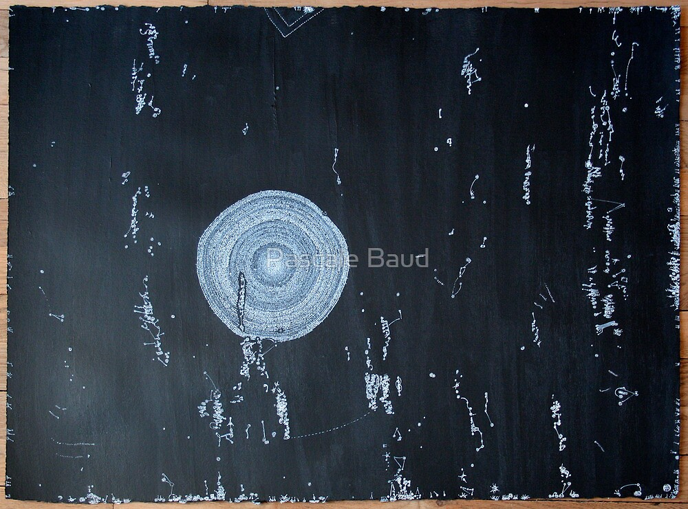 Idéés Blanches - White Ideas #7 - Mental Constellations #2 by Pascale Baud