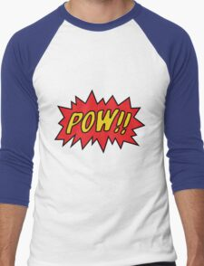 pow Men's Baseball ¾ T-Shirt