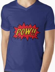 pow Mens V-Neck T-Shirt