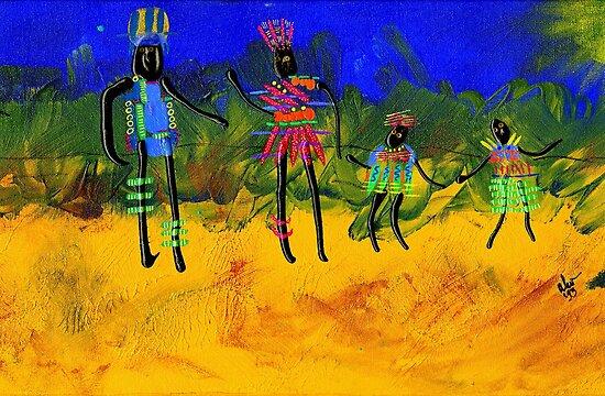 The Village People  by © Angela L Walker