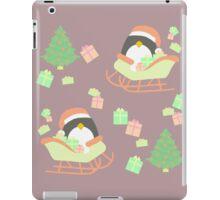 Penguin in Sleigh #3 iPad Case/Skin