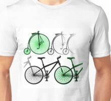 Cycles old and new Unisex T-Shirt