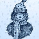 Holiday Squatch by brettisagirl