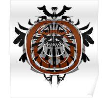 Bullseye Tribal Poster