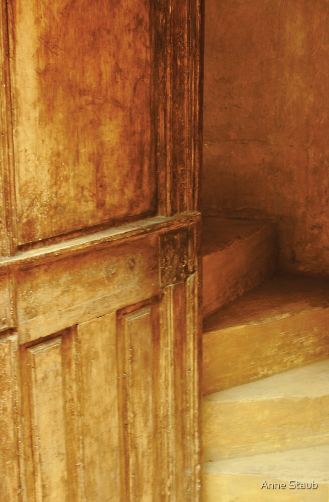 Upstairs.... by Anne Staub