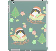 Penguin in Sleigh #4 iPad Case/Skin