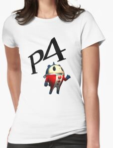 Teddie P4- Color Womens Fitted T-Shirt