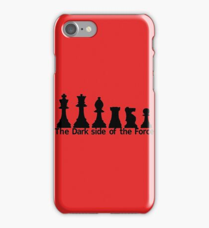 The Dark Side Of The Force iPhone Case/Skin