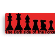 The Dark Side Of The Force Canvas Print