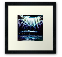 New Jerusalem : the bride Framed Print