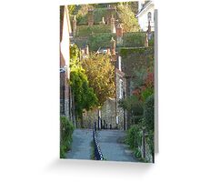 Church Hill In Autumn /3 Greeting Card