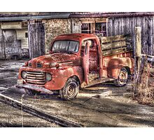 Barnyard Workhorse Photographic Print