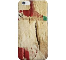 Old posters iPhone Cases iPhone Case/Skin