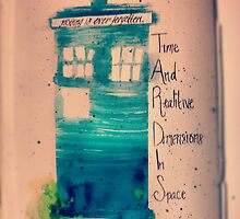 time and relevant dimensions in space by deanwinhcester