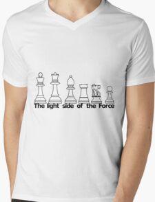 The Light Side Of The Force Mens V-Neck T-Shirt