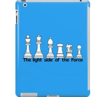 The Light Side Of The Force iPad Case/Skin