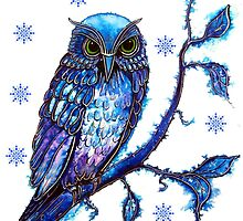 Christmas Owl by Linda Callaghan