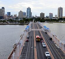"View of St. Petersburg, Florida, from ""The Pier"" by AuntDot"