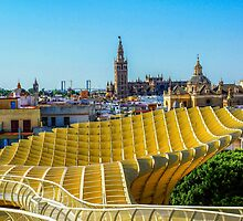 Seville - from the Metropol Parasol by MikeSquires