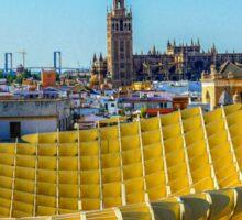 Seville - from the Metropol Parasol Sticker