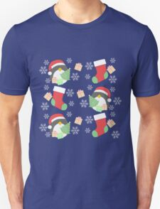 Penguin and Christmas Stockings #1 T-Shirt