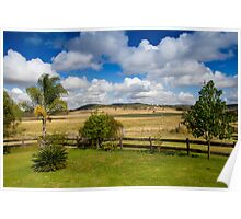 Rural View Poster