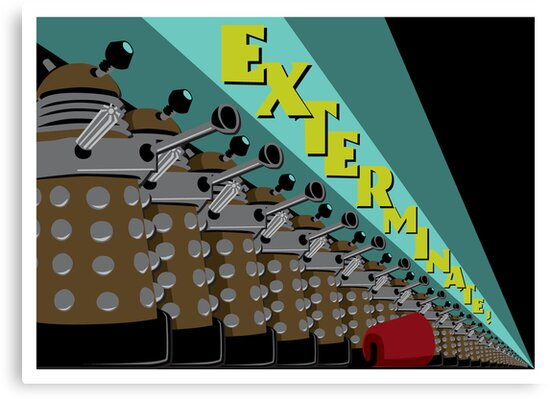 Exterminate! by Bill Cournoyer