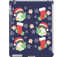 Penguin and Christmas Stockings #2 iPad Case/Skin
