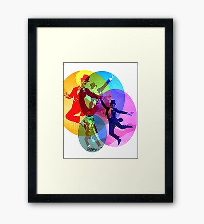Dancing on Air Framed Print