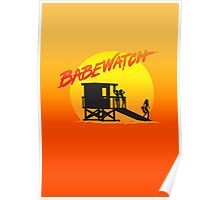 Babewatch (Baywatch) Poster