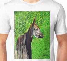 Okapia johnstoni  Unisex T-Shirt