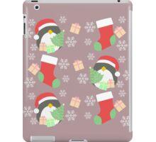 Penguin and Christmas Stockings #3 iPad Case/Skin