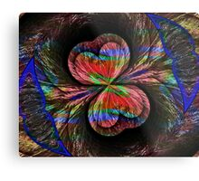 Wind Layered Metal Print