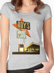 Roy's Motel Women's Fitted Scoop T-Shirt