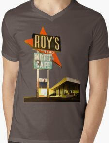 Roy's Motel Mens V-Neck T-Shirt