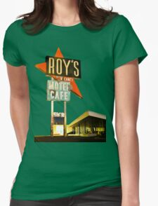 Roy's Motel Womens Fitted T-Shirt