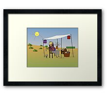 The Birth Mother Framed Print