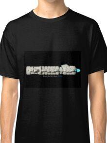 8 Bit Pixel Spaceship Enforcer Class Battle Cruiser - The Thor Classic T-Shirt