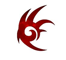 Shadow the Hedgehog Logo  Photographic Print