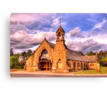 All Saints Anglican Church Canberra WAS railway Station Canvas Print