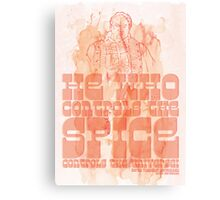 The Spice Canvas Print
