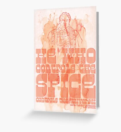 The Spice Greeting Card
