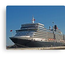 Queen Elizabeth in Fremantle Canvas Print