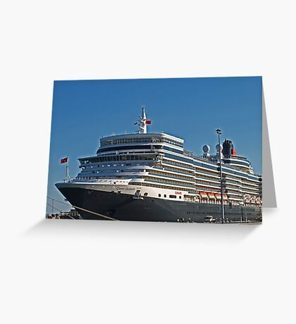 Queen Elizabeth in Fremantle Greeting Card